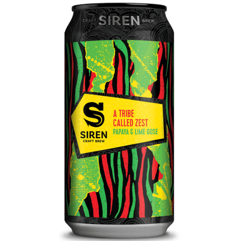 Siren A Tribe Called Zest Sour Gose 440ml (4.2%) - indiebeer