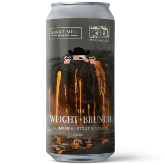 Burnt Mill x Mikkeller collab The Weight Of Brunch Cognac Barrel Aged Imperial Stout W/Coffee 440ml (10%) - 1 can limit