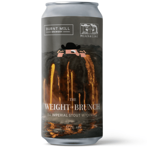Burnt Mill x Mikkeller collab The Weight Of Brunch Cognac Barrel Aged Imperial Stout W/Coffee 440ml (10%) - 1 can limit - indiebeer