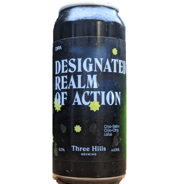 Three Hills Designated Realm of Action DIPA 440ml (8%)