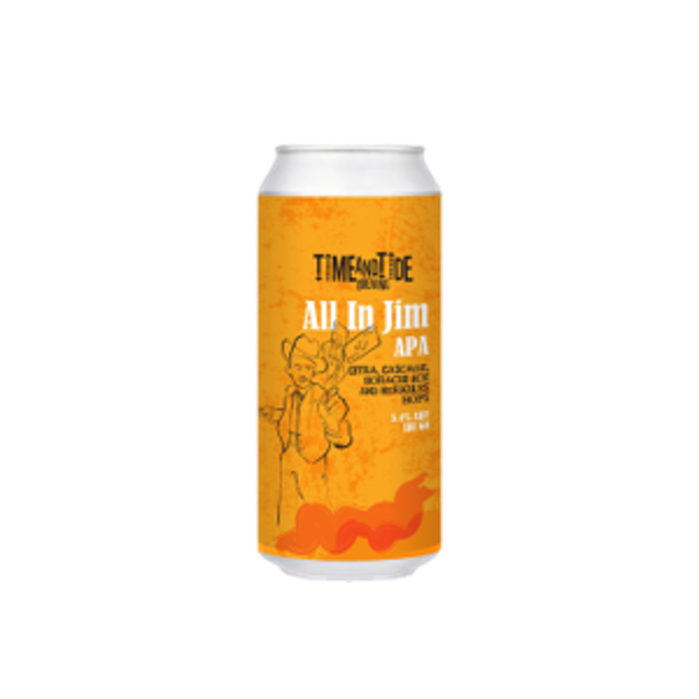 Time & Tide All in Jim American Pale Ale 440ml (5.4%)
