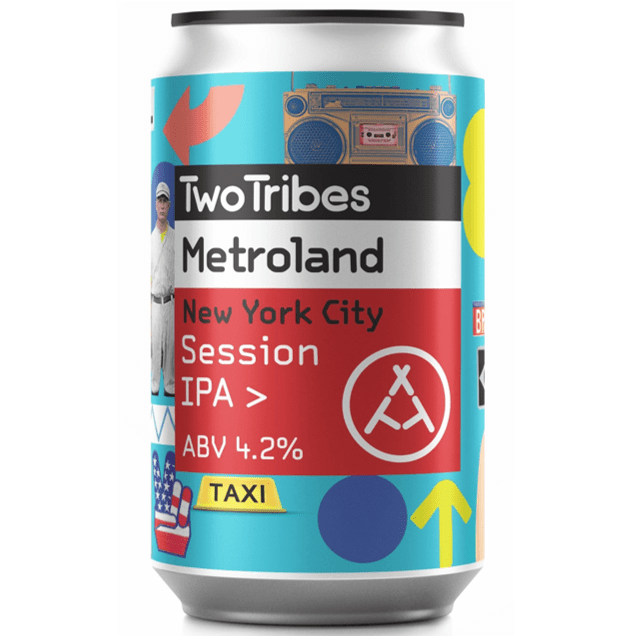 Two Tribes Metroland New York City Session IPA 330ml (4.2%)