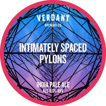 2 can limit - Verdant Intimately Spaced Pylons IPA 440ml (6%)