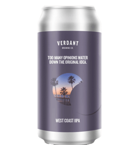 2 can limit - Verdant Too Many Opinions Water Down The Original Idea IPA 440ml (8%)