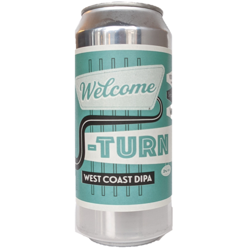 Verdant Welcome U Turn West Coast DIPA 440ml (8%)