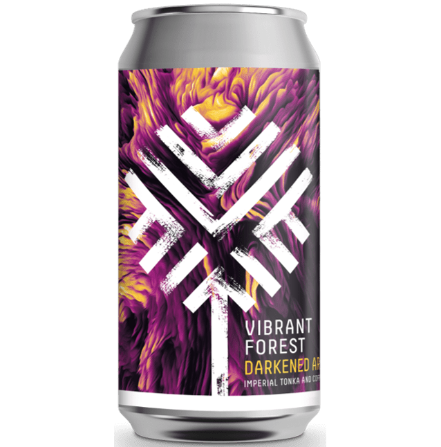 Vibrant Forest Darkened Ardour Imperial Tonka & Coffee Stout 440ml (10.5%)