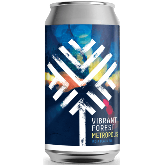 Vibrant Forest Metropolis - India Black Ale Black IPA 440ml (6%)