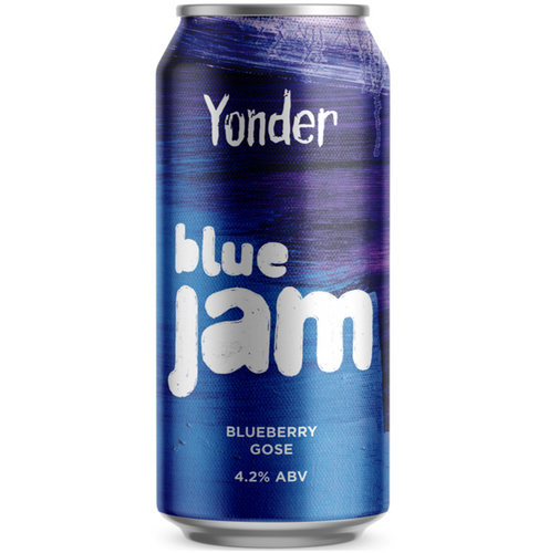 Yonder Blue Jam Blueberry Gose 440ml (4.2%)