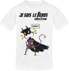 T-shirt enfant-ado Mixte Batman-vache X-men