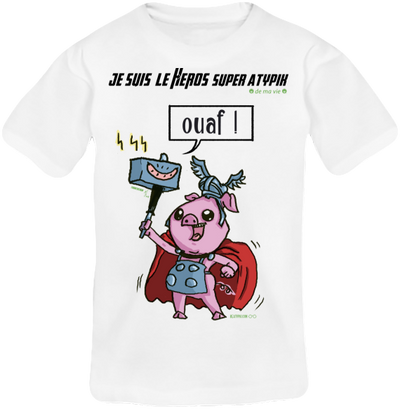 T-shirt Enfant-Ado Mixte Thorcochon X-men