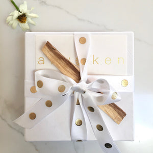 Intuitive Crystal Gift Box + Palo Santo Stick