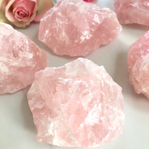 Rose Quartz - Rough