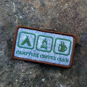 "Campfire Coffee Club Patch ""Icons"" (Waidmann Edition)"