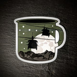 "Mugs of Destiny ""Black as my Ops"" Sticker"