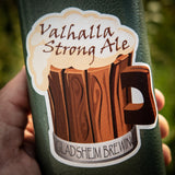 Valhalla Strong Ale Sticker
