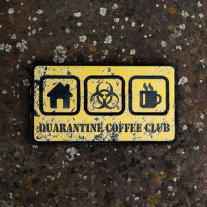 "Quarantine Coffee Club ""Icons"""