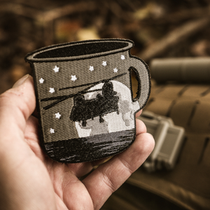 "Mugs of Destiny ""Black as my Ops"" Patch V3 (Chinook)"