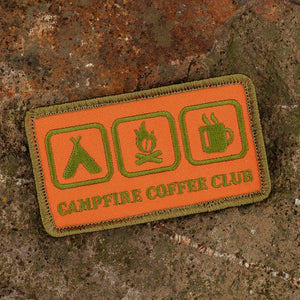 "Campfire Coffee Club Patch ""Icons"" (HV Edition)"