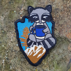 Raccoon Coffee Patch V1