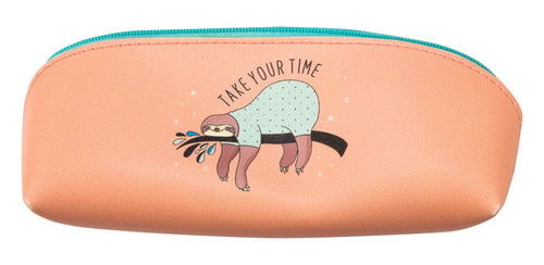 Sleepy Sloth Zipper Case