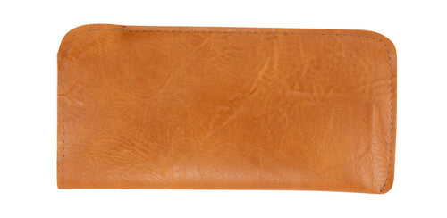 Genuine Leather Eyewear Pouch