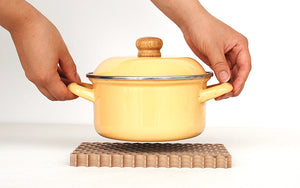 Dot - Wooden Pot Stand