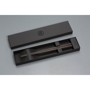 Eight-sided Chopsticks - Ebony 235mm