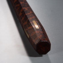 Eight-sided Chopsticks Gold - Snakewood 250mm