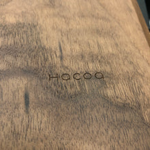 Black Walnut and Leather Clip Board with IKI engraving