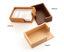 Wooden Business Card Holder
