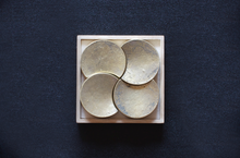 FUTAGAMI Light-Themed Brass Chopstick Rest Sets