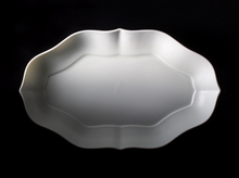TSUDOI Long RINKA Flower bowl: Bluish-white Glaze