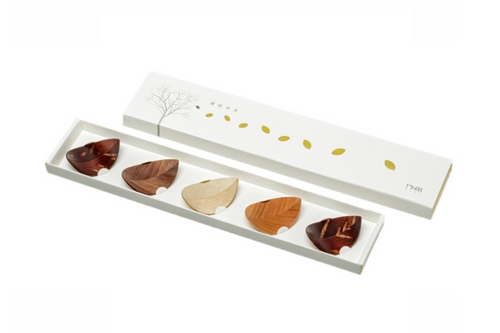 Leaf Chopstick Rest - HASHIOKI (Set of 5)