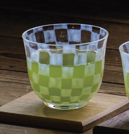 Cold Green Tea Cup by HIROTA Glass