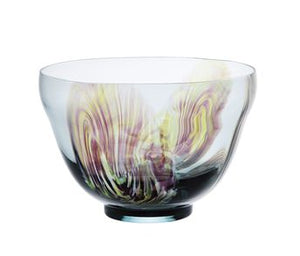 Wakan Tea Bowl - Flowery design