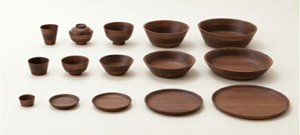 Hikiyose - Walnut wood Single layer