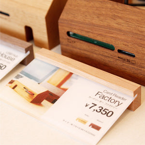 Wooden Card Stand (Set of 5)
