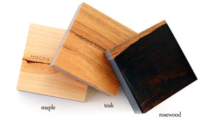 HACOA Wood-Grain Memo Block