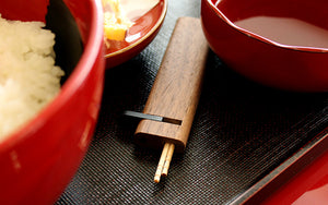 Wooden Toothpick Holder