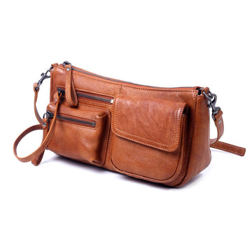 Cooper Leather Crossbody Bag