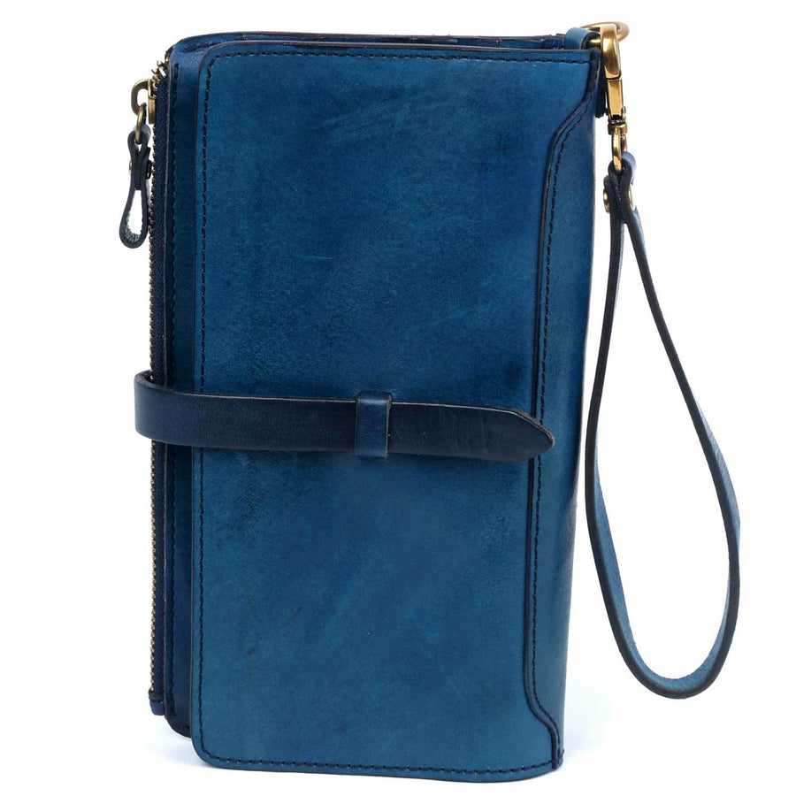 Cassie Leather Clutch Wallet