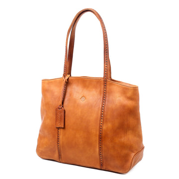 Teresa Leather Tote Bag