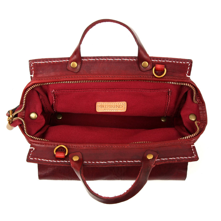Sarah Leather Satchel