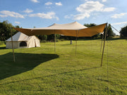 6x6 Metre Bell Tent Canopy Awning