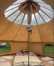 BTV 1 XL Skylight Cotton Canvas Bell Tent