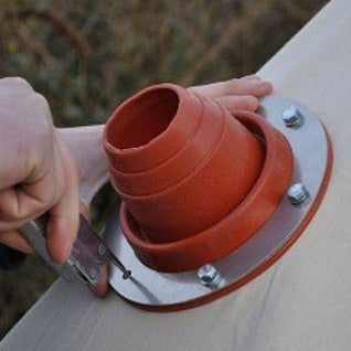 Bell Tent Flue Flashing Kit For Wood Burners & Stoves