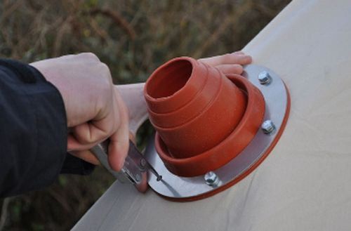 Large Bell Tent Flue Flashing Kit For Wood Burners & Stoves