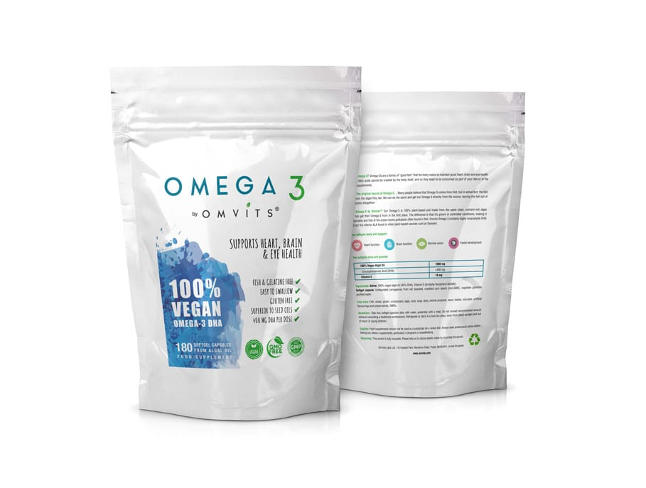 omvits omega 3 refill packs