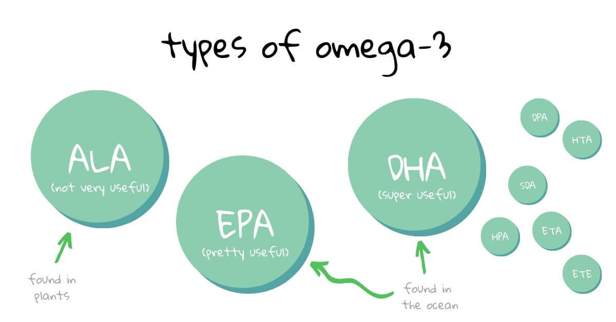 Types of Omega-3