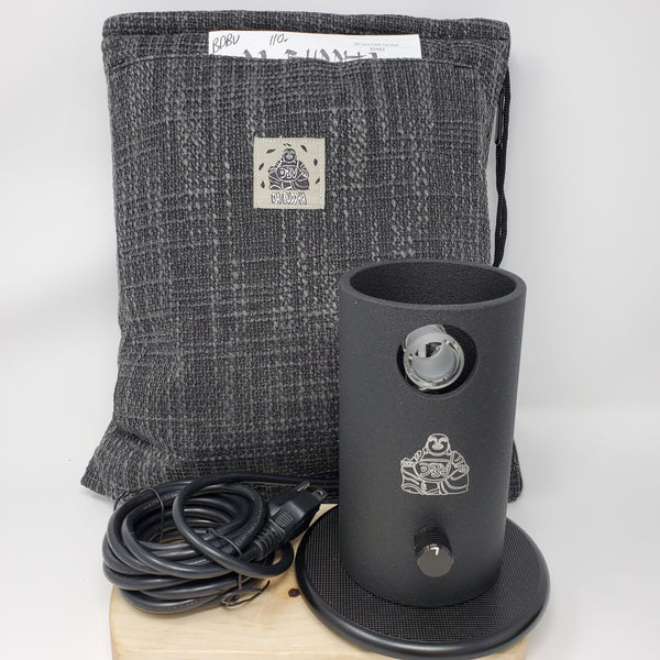 Da Buddha Vaporizer (DBV) in Black by 7th Floor